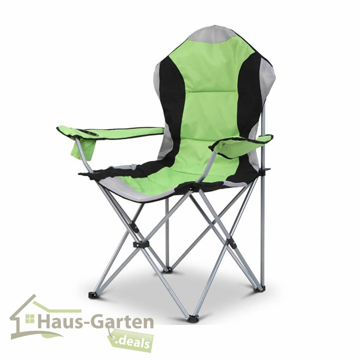campingstuhl gr n anglerstuhl faltstuhl klappstuhl. Black Bedroom Furniture Sets. Home Design Ideas